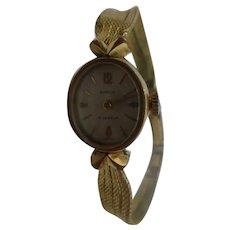 1960's Komos Manual Wind Rolled Gold Stainless Steel Ladies Watch