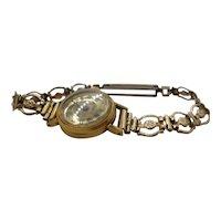 1960's Sekonda 17 Jewel Manual Wind Gold Plated Stainless Steel Ladies Cocktail Watch