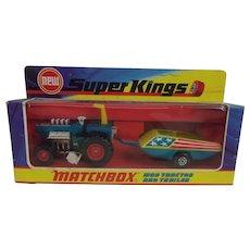Matchbox K-3 MOD Tractor & Trailer