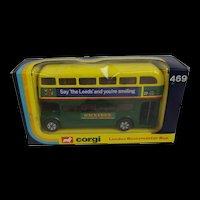 Boxed Corgi 469 London Routemaster Bus