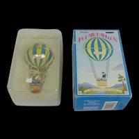 Schylling Toys Tinplate Hot Air Balloon