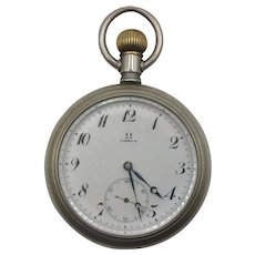 Early 20thC Large Gents Omega Pocket Watch