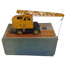 Dinky Toys 571 Coles Mobile Crane