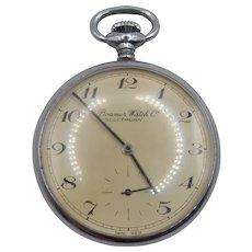 Mid 20thC Gents Roamer Watch Co. Open Faced Pocket Watch