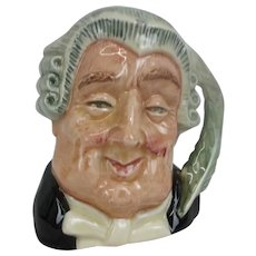 Royal Doulton The Lawyer Mid-Sized Character Jug
