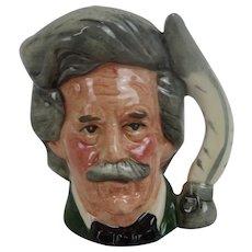 Royal Doulton Mark Twain Small-Sized Character Jug