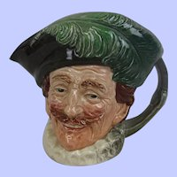 Royal Doulton The Cavalier Large-Sized Character Jug