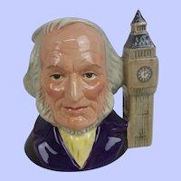 Royal Doulton John Doulton With Big Ben Medium-Sized Character Jug
