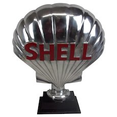 Shell Petrol Pump Half Globe Advertising Sign