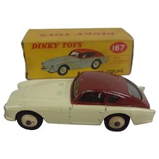 Boxed Dinky Toys 167 A.C. Aceca Coupe Car
