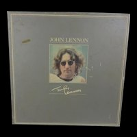 Boxed John Lennon 1978 Issued Collection Of Eight Cassette Tapes