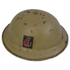 1939 Dated British Desert Rats Helmet