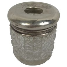 Birmingham 1912 Silver Topped Cocktail Stick Holder