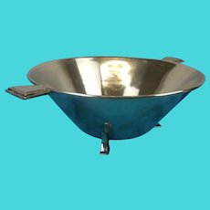 Silver Plated Art Deco Bowl By Dawson & Co.