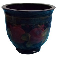 Large Circa 1930 William Moorcroft Pomegranate Jardiniere Planter Vase