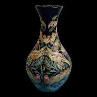 Large 16.25 Inches Moorcroft Prestige Owl And Pigeon Vase