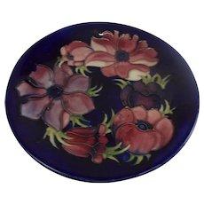 Moorcroft Clematis Pattern Plate