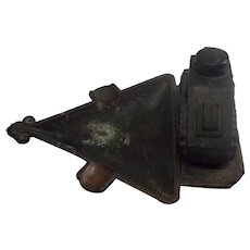 WW1 Tank Metal Ashtray