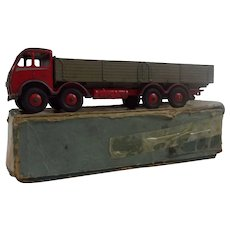 Dinky 502 Foden Flat Bed Truck In Its Original Box