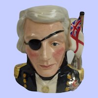 Small Royal Doulton D6963 Nelson Toby Jug