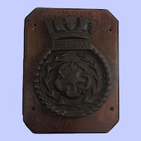 HMS Solebay Bronze 1945 Destroyer Ships Boat Badge