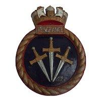 HMS Vengeance Submarine 1999 Crest