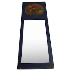 Rowley Gallery Arts And Crafts Carved Wood Mirror