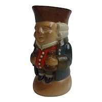 Harry Simeon For Doulton Lambeth Toby Jug Of A Gentleman Holding A Bottle And Wine Glass #2