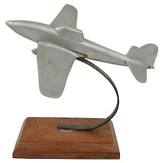 WW2 Era Wood Model Of Ilyushin II-2 Shturmovik Fighter Plane