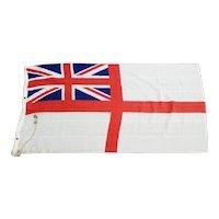 WW2 British Royal Navy White Ensign Ships Flag - HMS Pink