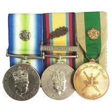South Atlantic Group Medal Set - Lt I. McLaren RN
