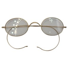9ct Gold Victorian Spectacles