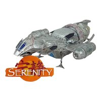 Hand Built And Painted Model Of The Serenity A Firefly Class Spaceship From The Cult TV Series