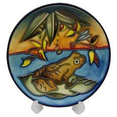 Moorcroft Frog Pin Dish