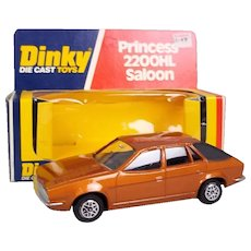 Dinky Die Cast Toys No.123 Princess 2200HL Saloon, Boxed