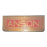 Bronze Tread Plate From The Battleship HMS Anson (79) 1942