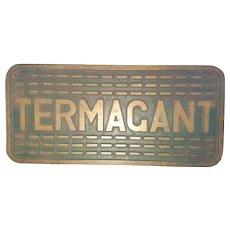 HMS Termagant T Class Destroyer 1943 Bronze Tread Plate