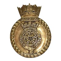 HMS Duke Of York Battleship (17) Secondary 1941 Battleship Bronze Tompion