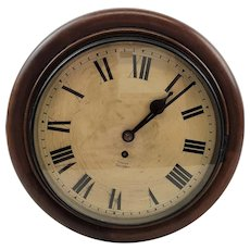 Coventry Astral Fusee Movement Round Dial Wall Clock