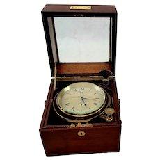 Circa 1900 Kelvin, White And Hutton Two Day Marine Chronometer