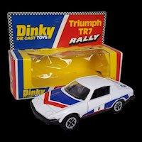 Dinky Toys No. 207 Triumph TR7 Rally, Boxed 1977-80