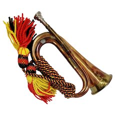 British Military Bugle By Potters Of Aldershot
