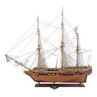 Royal Navy Frigate HMS Unicorn 1747 Model