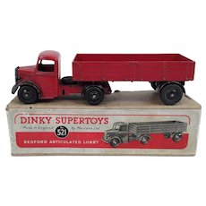 Dinky Supertoys 521 Bedford Articulated Lorry In Its Original Box