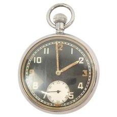 Circa WW1 GSTP Trench Pocket Watch