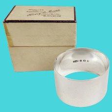 Birmingham 1944 Silver Napkin Ring