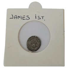 James I Silver Penny Coin