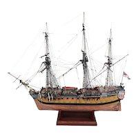 Scratch Built One Off Model Of HMS Bellona (1760)