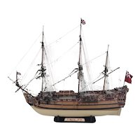 Scratch Built One Off British Model Of A 1719 First Rate Ship Of The Line