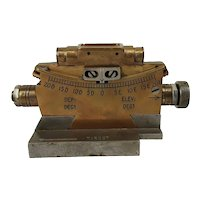 WW2 British Clinometer For Vickers .303in HMG MKII Dated 1944